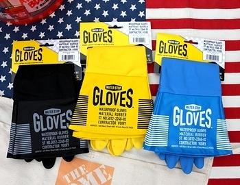 ラバーグローブ アメリカンゴム手袋 アメリカ雑貨屋 サンブリッヂ SUNBRIDGE 岩手雑貨屋
