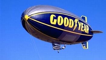 グッドイヤー飛行船 グッドイヤータイヤ灰皿 アメリカ雑貨屋 サンブリッヂ SUNBRIDGE 岩手雑貨屋