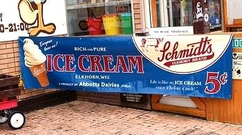 アメリカンプロモーションバナー イベントバナー ICE CREAM アイスクリーム アメリカ雑貨屋 SUNBRIDGE 岩手 アメリカン雑貨