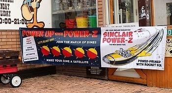 アメリカンプロモーションバナー イベントバナー POWER-Z パワーゼット アメリカ雑貨屋 SUNBRIDGE 岩手 アメリカン雑貨