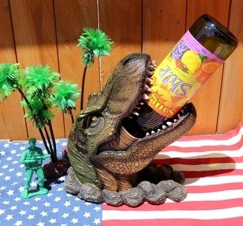 恐竜ワインホルダー ティラノザウルスワインボトルホルダー ジュラシックパーク ジュラシックワールド アメリカ雑貨屋 SUNBRIDGE 岩手雑貨屋