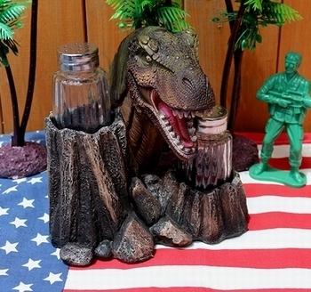 恐竜ソルト&ペッパー ティラノザウルス塩こしょう ジュラシックパーク ジュラシックワールド アメリカ雑貨屋 SUNBRIDGE 岩手雑貨屋