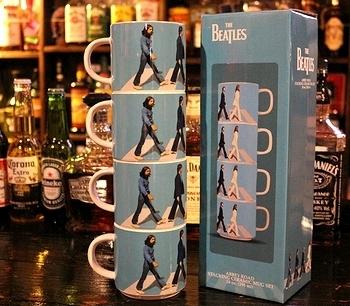 ビートルズマグカップセット アビーロードマグカップセット アメリカ雑貨屋 サンブリッヂ SUNBRIDGE 岩手雑貨屋