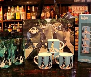 ビートルズマグカップセット アビーロード雑貨 アメリカ雑貨屋 サンブリッヂ SUNBRIDGE 岩手雑貨屋