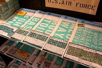 ステンシルガーランド ステンシルシート通販 アメリカ雑貨屋 SUNBRIDGE サンブリッヂ 岩手雑貨屋