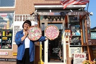 ピザプレート プレート アメリカ雑貨屋 サンブリッヂ SUNBRIDGE 岩手雑貨屋