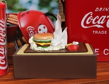 ハンバーガーティッシュケース おもしろティッシュケース アメリカ雑貨屋 サンブリッヂ SUNBRIDGE 岩手雑貨屋