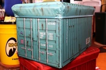 アメリカコンテナストレージボックス 折りたたみ収納ボックス アメリカン収納ケース おもちゃ収納 アメリカ雑貨屋 SUNBRIDGE 岩手雑貨 矢巾町雑貨屋