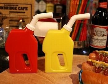 オイル缶ボトル ケチャップマスタード アメリカ雑貨屋サンブリッヂ SUNBRIDGE 岩手雑貨屋
