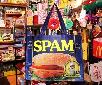 スパムバッグ スパムレジャーバッグ SPAM アメリカ雑貨屋サンブリッヂ SUNBRIDGE 岩手雑貨屋 アメリカ雑貨通販
