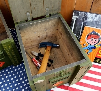 アンモボックス ミリタリーアミニッションボックス アメリカ雑貨屋サンブリッヂ SUNBRIDGE 岩手雑貨屋