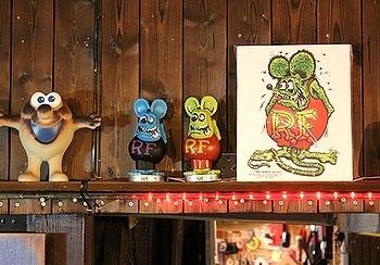ラットフィンクボビングドール ボビングヘッド アメリカ雑貨屋サンブリッヂ SUNBRIDGE 岩手雑貨屋