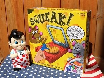 ネズミ捕りゲーム SQUEAT アメリカ雑貨屋サンブリッヂ SUNBRIDGE 岩手雑貨屋 アメリカ雑貨通販
