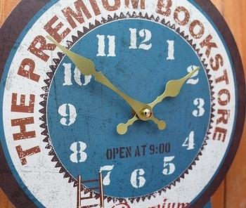 オールドルッククロック 壁掛け時計 アメリカ雑貨屋サンブリッヂ SUNBRIDGE 岩手雑貨屋
