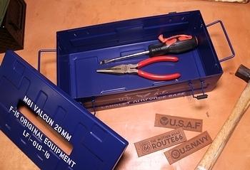 ミリタリーティッシュケース ティッシュボックスケース アメリカ雑貨屋サンブリッヂ SUNBRIDGE 岩手雑貨屋
