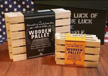WOODENPALLET ウッドパレット鍋しき アメリカ雑貨屋サンブリッヂ SUNBRIDGE 岩手雑貨屋