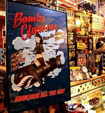 カスタムアートポスター アメリカ雑貨屋サンブリッヂ SUNBRIDGE 岩手雑貨屋 アメリカ雑貨通販