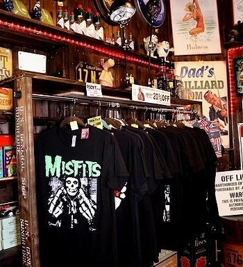 ミスフィッツTシャツ ロックTシャツ通販 岩手雑貨