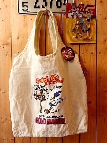 ロードランナートートバッグ ロードランナーバッグ アメリカ雑貨屋サンブリッヂ SUNBRIDGE 岩手雑貨屋 ロードランナー通販