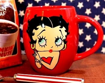 ベティマグカップ ベティちゃんマグカップ アメリカ雑貨屋 SUNBRIDGE 岩手矢巾町 アメリカン雑貨盛岡