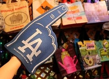 ドジャーススポンジハンド LAスポンジハンド アメリカ雑貨屋 サンブリッヂ SUNBRIDGE 岩手雑貨屋 アメリカ雑貨通販