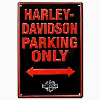 ハーレー専用駐車場看板 ハーレー看板 アメリカ雑貨屋 サンブリッヂ SUNBRIDGE 岩手雑貨屋 アメリカ雑貨通販