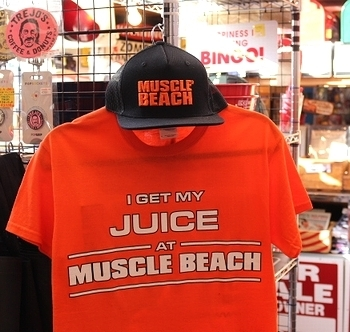 マッスルビーチキャップ MUSCLEBEACH アメリカ雑貨屋 サンブリッヂ SUNBRIDGE 岩手雑貨屋
