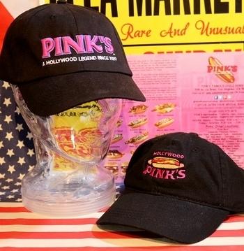 ピンクスキャップ ピンクスホットドッグキャップ アメリカ雑貨屋 サンブリッヂ SUNBRIDGE 岩手雑貨屋 アメリカ雑貨通販