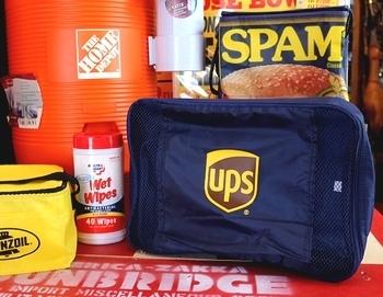 UPSトラベルポーチセット アメリカ雑貨屋 サンブリッヂ SUNBRIDGE 岩手雑貨屋 アメリカ雑貨通販