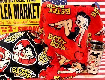 ベティブランケット ベティちゃんブランケット ベティひざ掛け アメリカ雑貨屋 サンブリッヂ SUNBRIDGE 岩手雑貨屋