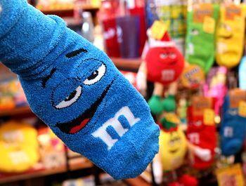 エム&エムズ靴下 エム&エムズソックス M&M's アメリカ雑貨屋 サンブリッヂ SUNBRIDGE 岩手雑貨屋 アメリカ雑貨通販