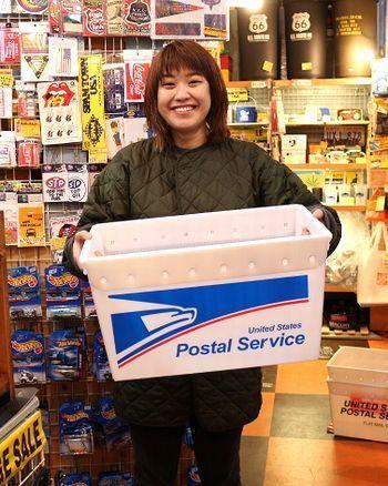 U.S.POST BOX 収納ボックス アメリカ雑貨屋 サンブリッヂ SUNBRIDGE 岩手雑貨屋