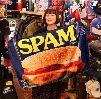 スパムブランケット SPAM アメリカ雑貨屋 サンブリッヂ SUNBRIDGE 岩手雑貨屋