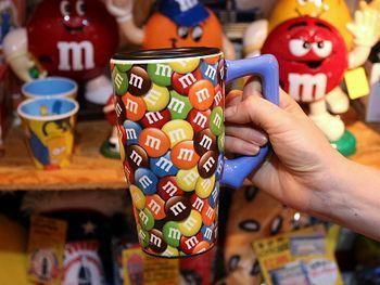 エムアンドエムズサーモマグカップ m&m'sマグ アメリカ雑貨屋 サンブリッヂ SUNBRIDGE 岩手雑貨屋