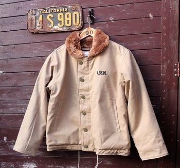 N-1ジャケット ミリタリー アメリカ雑貨屋 サンブリッヂ SUNBRIDGE 岩手雑貨屋