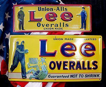 Lee看板 リー看板 リー復刻看板 Leeサイン アメリカ雑貨屋 サンブリッヂ SUNBRIDGE 岩手雑貨屋 アメリカ雑貨通販