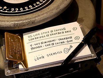 ステンシルシート通販 サンブリッヂ SUNBRIDGE 岩手雑貨屋 アメリカ雑貨通販
