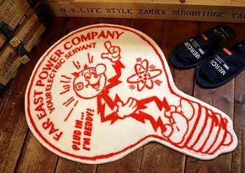 レディキロワットマット レディキロマット レディキロマット電球 アメリカ雑貨屋 サンブリッヂ SUNBRIDGE 岩手雑貨屋 アメリカ雑貨通販