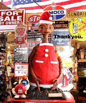 ET等身大 笑ってこらえて雑貨屋 アメリカ雑貨屋 サンブリッヂ SUNBRIDGE 岩手雑貨屋 アメリカ雑貨通販