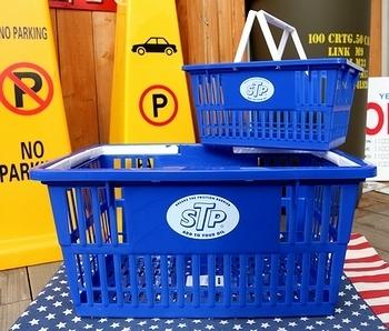 STPバスケット カゴSTP アメリカンカゴ アメリカ雑貨屋 サンブリッヂ SUNBRIDGE 岩手雑貨屋 アメリカ雑貨通販