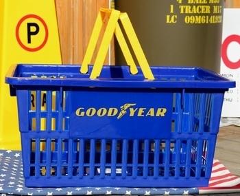 グッドイヤーバスケット カゴグッドイヤー アメリカンカゴ アメリカ雑貨屋 サンブリッヂ SUNBRIDGE 岩手雑貨屋 アメリカ雑貨通販