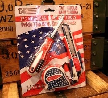 アメリカ工具セット USツールセット フィートメジャー通販 アメリカ雑貨屋 サンブリッヂ SUNBRIDGE 岩手雑貨屋 アメリカ雑貨通販