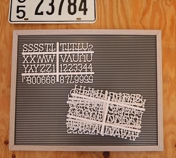 レターボード オリジナル看板 カフェ看板 アメリカ雑貨屋 サンブリッヂ SUNBRIDGE 岩手雑貨屋 アメリカ雑貨通販