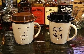 おじさんマグカップ マグカップ アメリカ雑貨屋 サンブリッヂ SUNBRIDGE 岩手雑貨屋 アメリカ雑貨通販