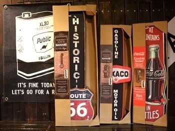 ルート66LEDライト看板 コーラLEDライトサイン オフザウォールLEDサインテキサコ アメリカ雑貨屋 サンブリッヂ SUNBRIDGE 岩手雑貨屋 アメリカ雑貨通販
