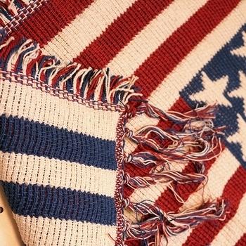 アメリカ国旗ミニマット 星条旗ロングマット 星条旗マット USA柄マット  アメリカ雑貨屋 SUNBRIDGE 岩手アメリカン雑貨