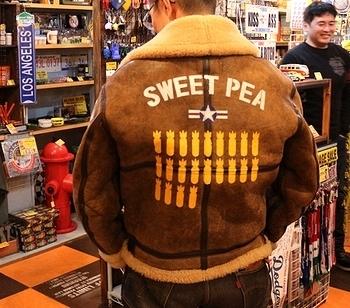 ステンシルジャケット オーダーステンシル アメリカ雑貨屋 サンブリッヂ SUNBRIDGE 岩手雑貨屋