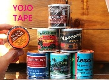 マーキュリーテープ アメリカン梱包テープ マーキュリーテープ アメリカ雑貨屋 SUNBRIDGE 岩手アメリカン雑貨