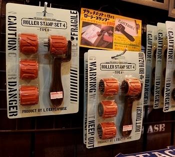 ステンシルスタンプ ローラースタンプ ステンシルローラースタンプ アメリカ雑貨屋 サンブリッヂ SUNBRIDGE 岩手雑貨屋 アメリカ雑貨通販