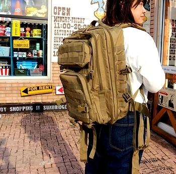 アサルトリュック アメリカ軍リュック 所さんリュック アメリカ雑貨屋 サンブリッヂ SUNBRIDGE 岩手雑貨屋 アメリカ雑貨通販